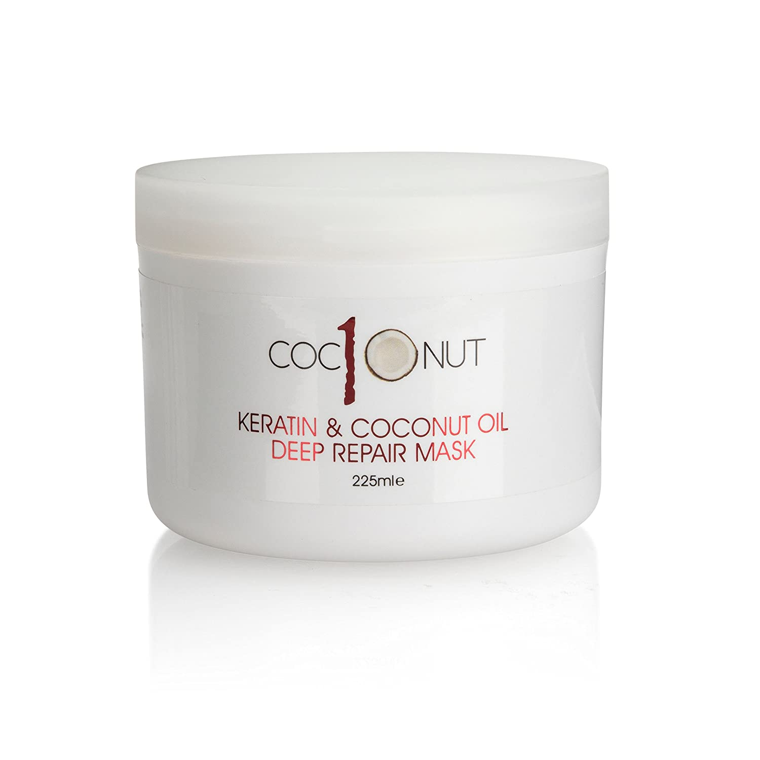 Keratin and Coconut Oil Deep Repair Hair Mask: Intensive Conditioning  Treatment for Dry/Damaged Hair