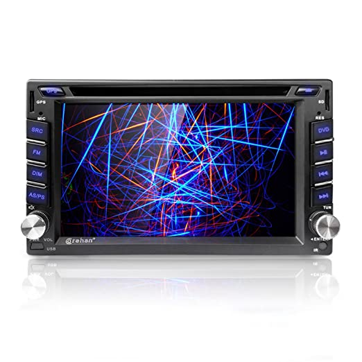 81H3y%2BXb3YL._SX522_ amazon com corehan 6 2 inch touch screen double din in dash head  at fashall.co