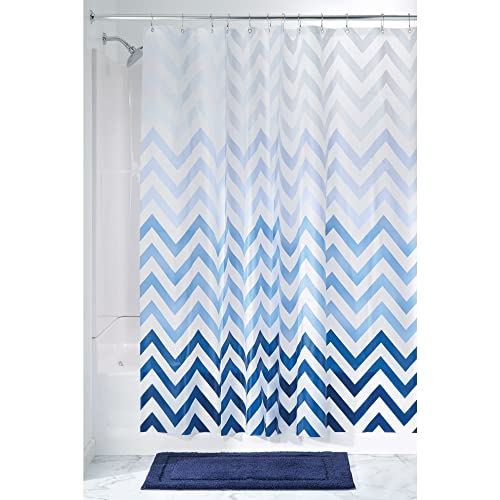 MDesign Anti Mould Shower Curtain With Obre Pattern