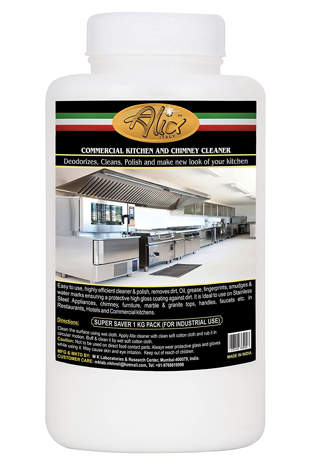Buy Alix Commercial Kitchen and Chimney Cleaner for Professional ...