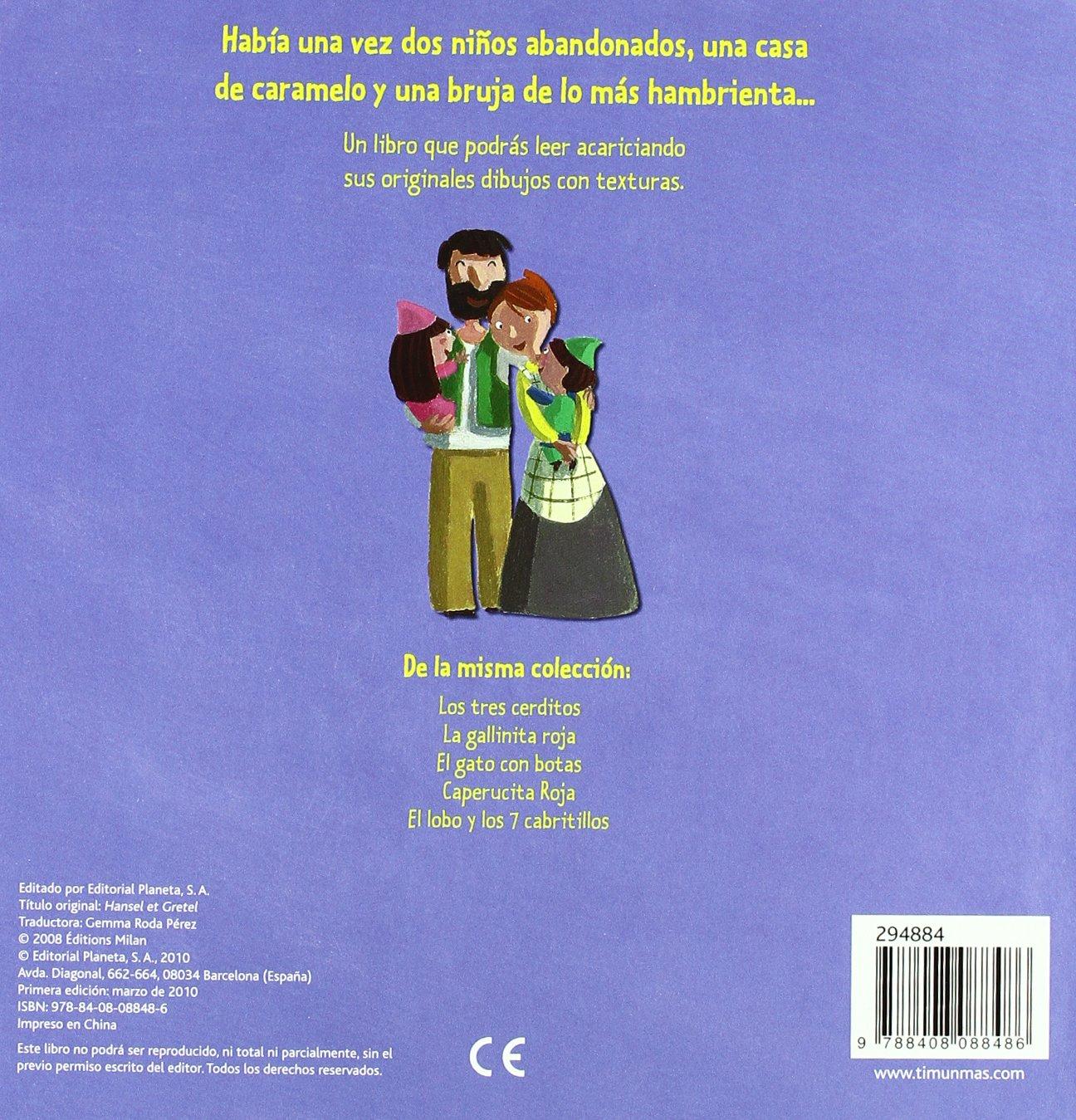 Hansel y Gretel (pop-up): Éditions Milan: 9788408088486: Amazon.com: Books