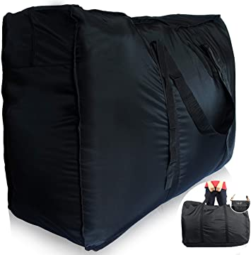 Extra Large Laundry Shopping Childrens Toy Storage Cargo Reusable Bag