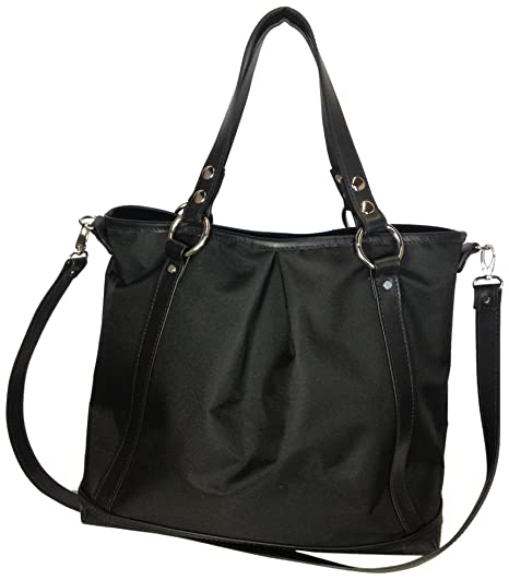 Mia Bossi Lyndsey Diaper Bag, Noir Diapering & Nappy Changing at amazon