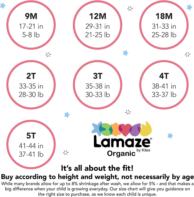 Pack of 4 Lamaze Organic Baby Baby Girls Training Underwear