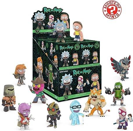 FunKo Pack figuras Rick y Morty 5 cm. Mystery Minis Una sola figura: Amazon.es: Juguetes y juegos