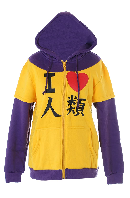 TA-04 Danganronpa Bear Bär Monokuma Kapuzen Sweatshirt Pullover Hoodie Cosplay