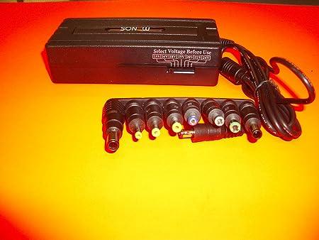 Kloner - Cargador universal para portátiles, 90 V, USB, 8 conectores, Jack: Amazon.es: Informática