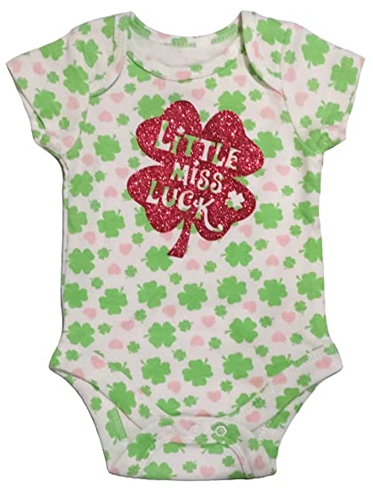 2fcef1f69 Amazon.com: ST. Patricks Day Irish Baby Onesie Creeper Bodysuit ...