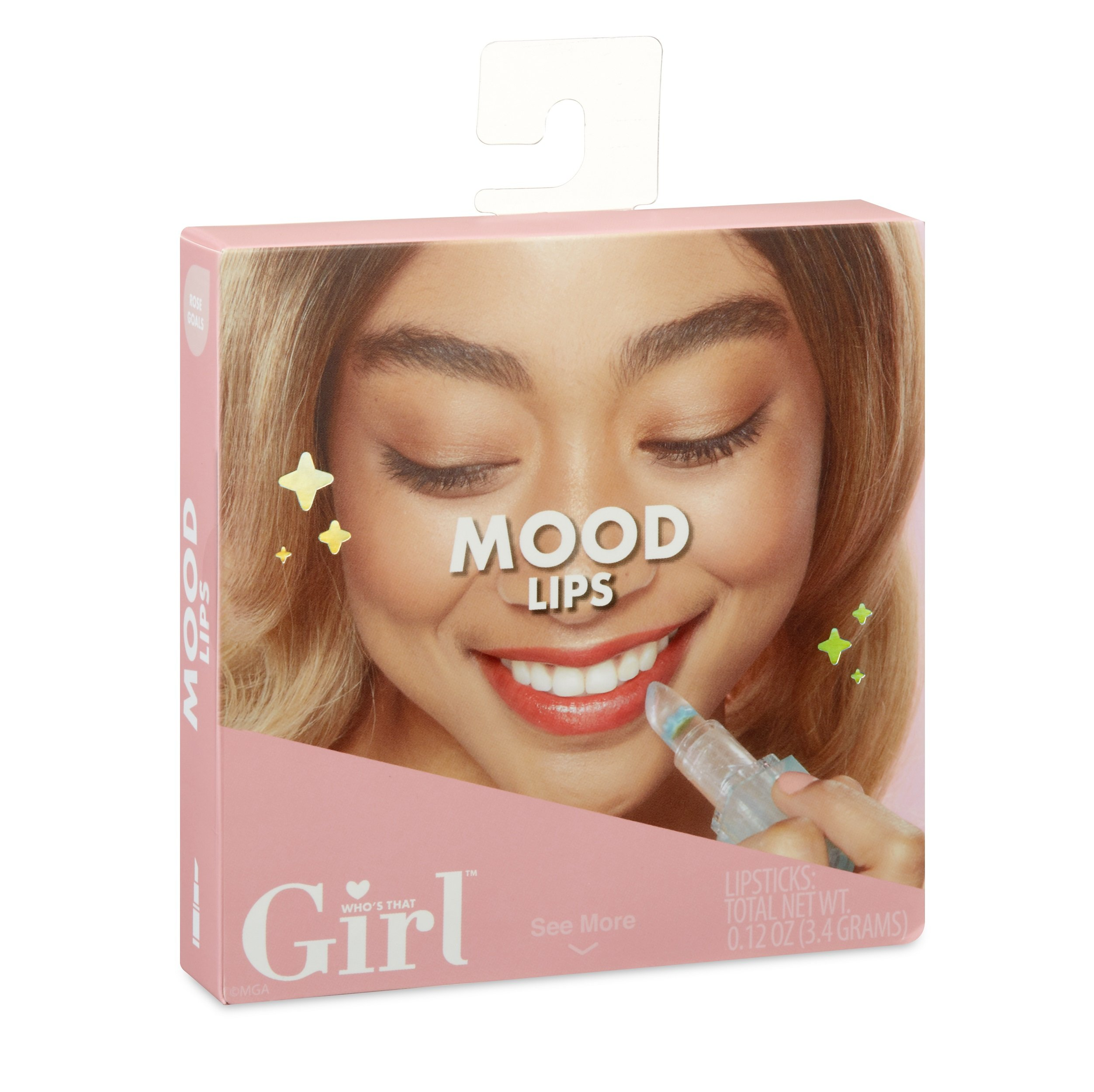 Who's That Girl Mood Lips, Rose Goals