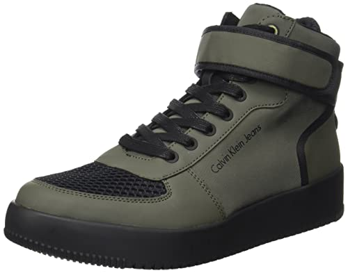 Calvin Klein Gent Rub Smooth/Nylon, Zapatillas para Hombre, Marrón (Cargo), 44 EU: Amazon.es: Zapatos y complementos