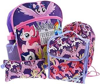 My Little Pony Backpack School Set