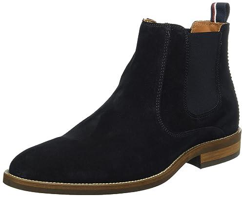 Tommy Hilfiger D2285ALLEN 13B, Botines para Hombre, Azul (Midnight 403), 46 EU: Amazon.es: Zapatos y complementos