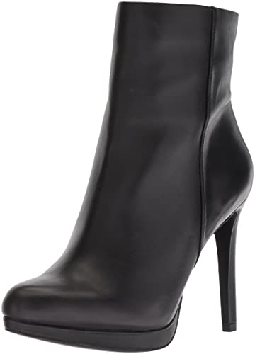 ab8fd2defd0 Nine West Women's Quanette Leather Ankle Boot