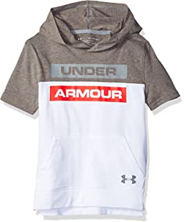 Under Armour Boys Tech Textured Shorts Sleeve Hoodie