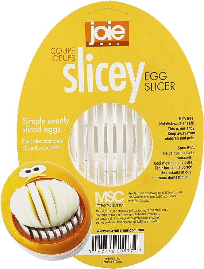 Strawberry Mushroom Cuts Hard Boiled Eggs Perfectly Joie Slicey Egg Slicer
