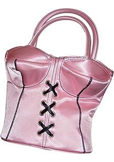be5807f8454dd Handtasche im Korsett Design Corsage Tasche Schwarz  Amazon.de ...