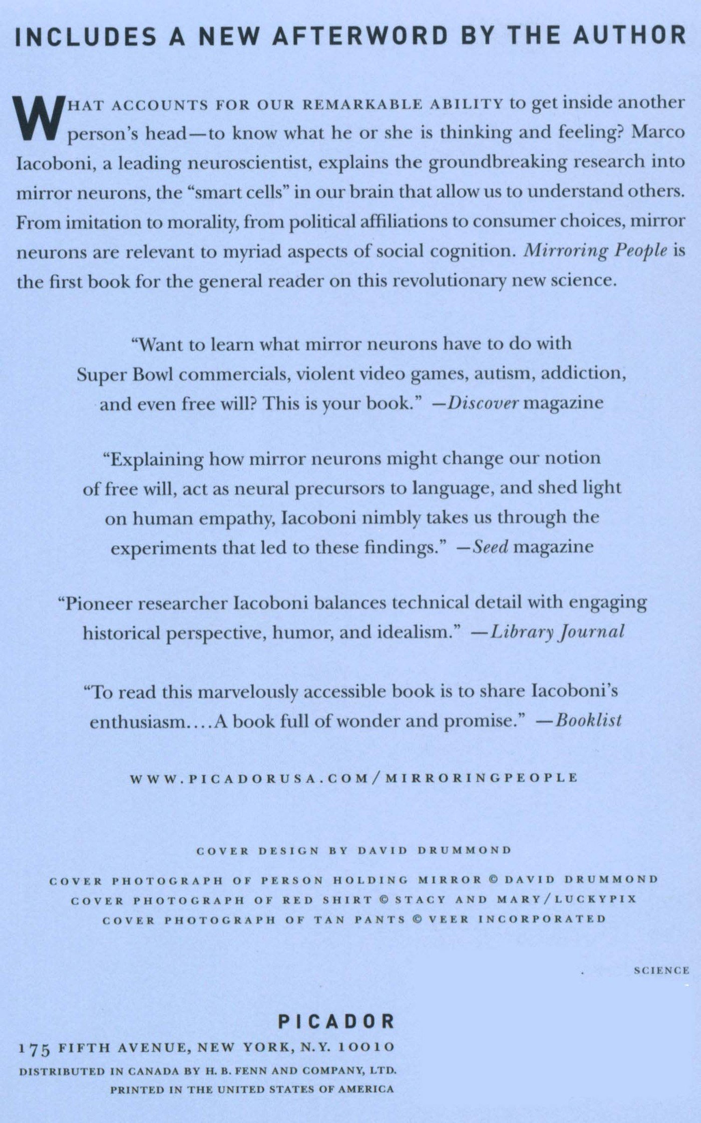 Mirroring people the science of empathy and how we connect with mirroring people the science of empathy and how we connect with others marco iacoboni 9780312428389 amazon books fandeluxe Image collections