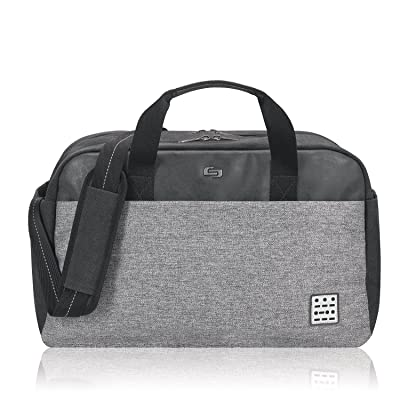 hot sale 2017 Solo Impulse 17.3 Inch Laptop Duffel, Black/Grey
