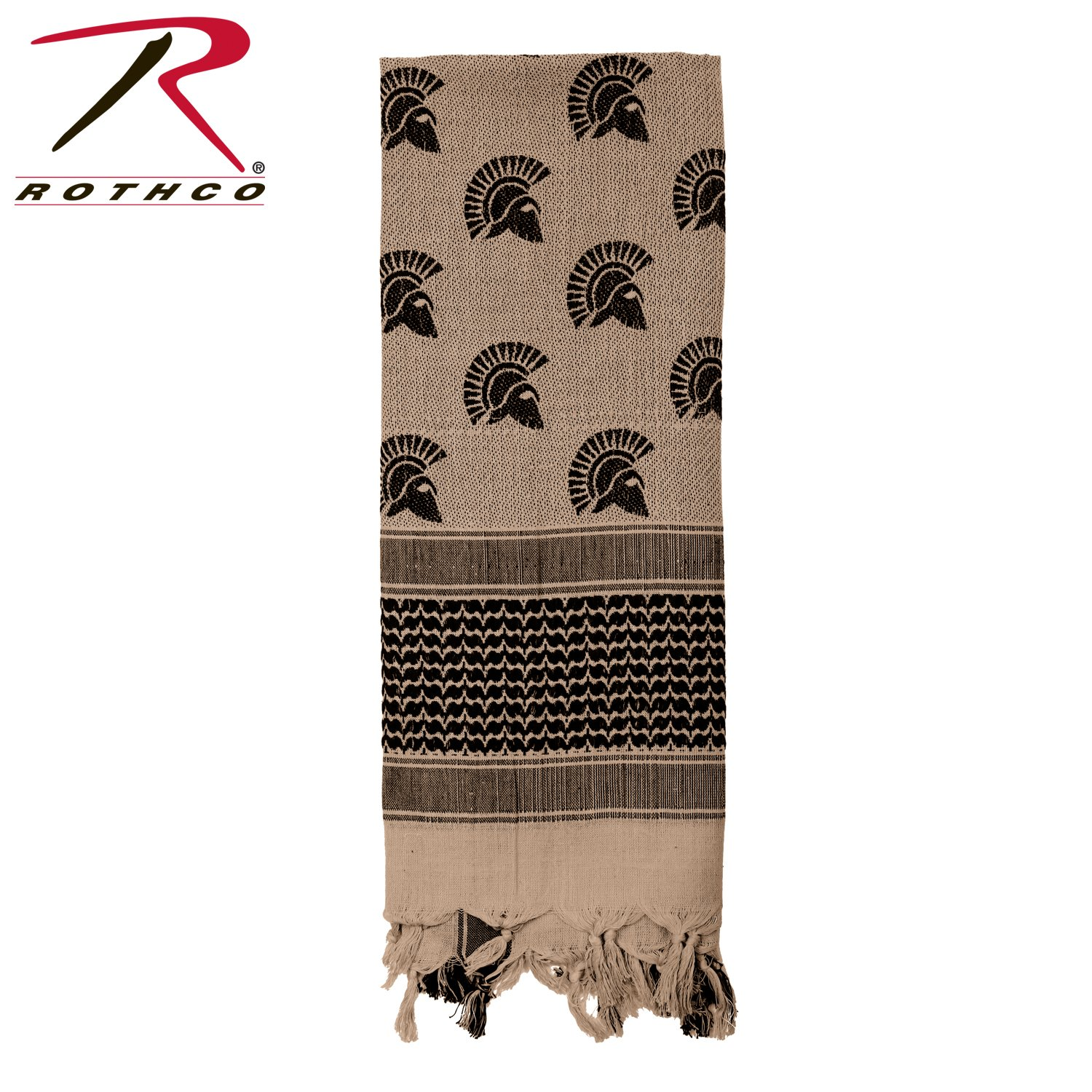 Rothco Spartan Shemagh Tactical Desert Scarf, Tan