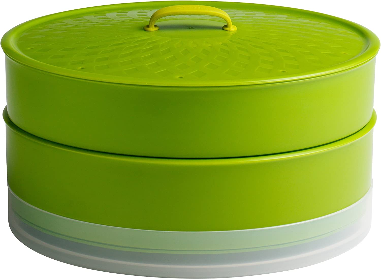 Chef'n SteamSum Stackable Outlet ☆ Free Shipping Stovetop Wok 10- Microwave Trust or Steamer