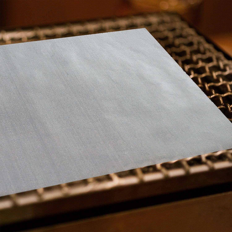 OZ6YA Barbecue Grill MatTeflon antiadhésif Grill Protection Pad Haute température résistant tailleNon Stick Cuisson Maille pour Intérieur Gaz ou Électrique Grill 400*500*0.2mm
