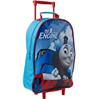 Thomas & Friends 4 Piece Luggage Set - Trolley Bag, Backpack, Swim Bag and Wallet