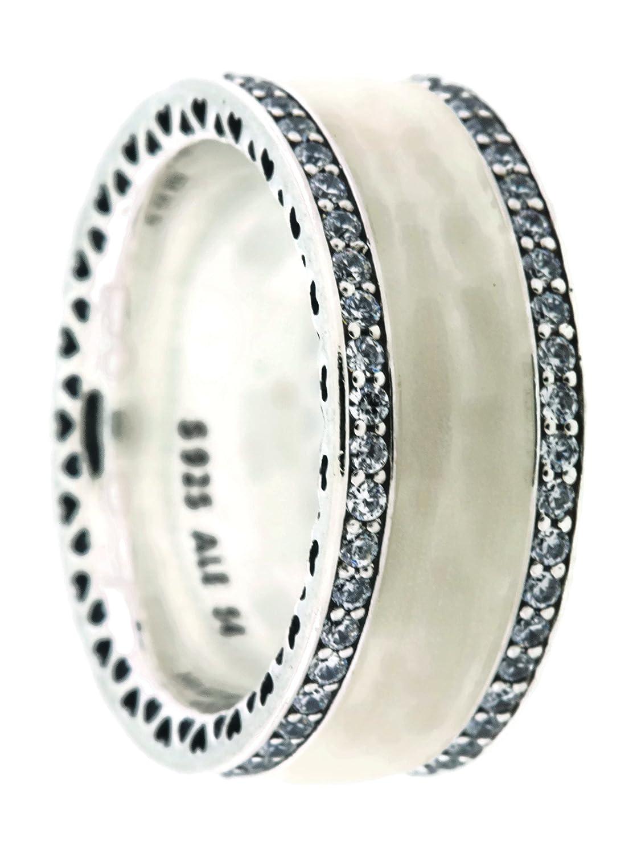 c651eff90 ... italy amazon hearts of pandora ring silver enamel clear cz 191024en23  60 eu 9 us kitchen
