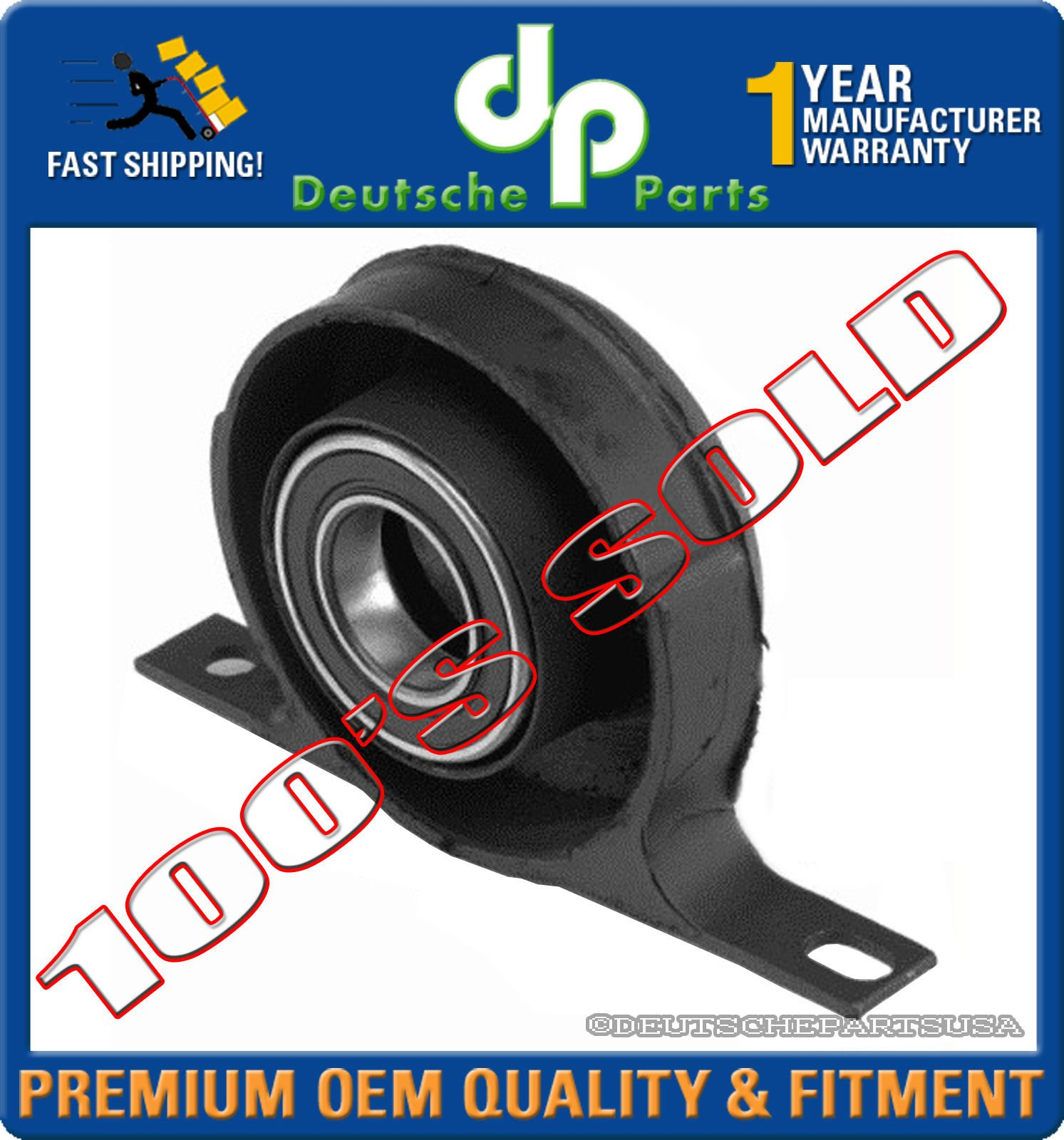 PROPSHAFT Support Bearing for BMW E24 E10 E9 E3 628Csi 633csi 735iL 2500 2800
