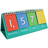 edxeducation Student Place Value Flip Chart - Thousands - Learn to Count by Ones, Tens, Hundreds and Thousands