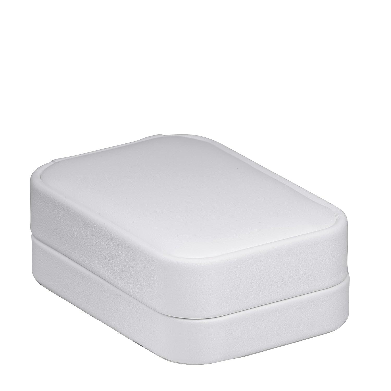 White Allure Box and Display Allure Classic Ring Box