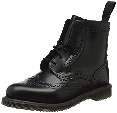 21d5822fbd3 Dr. Martens Women s Delphine Fashion Boot Black Polished Smooth Leather 3  Medium UK (5