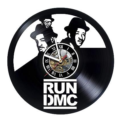 Amazon com: artVoloshka Run dmc City - Wall Clock Made of