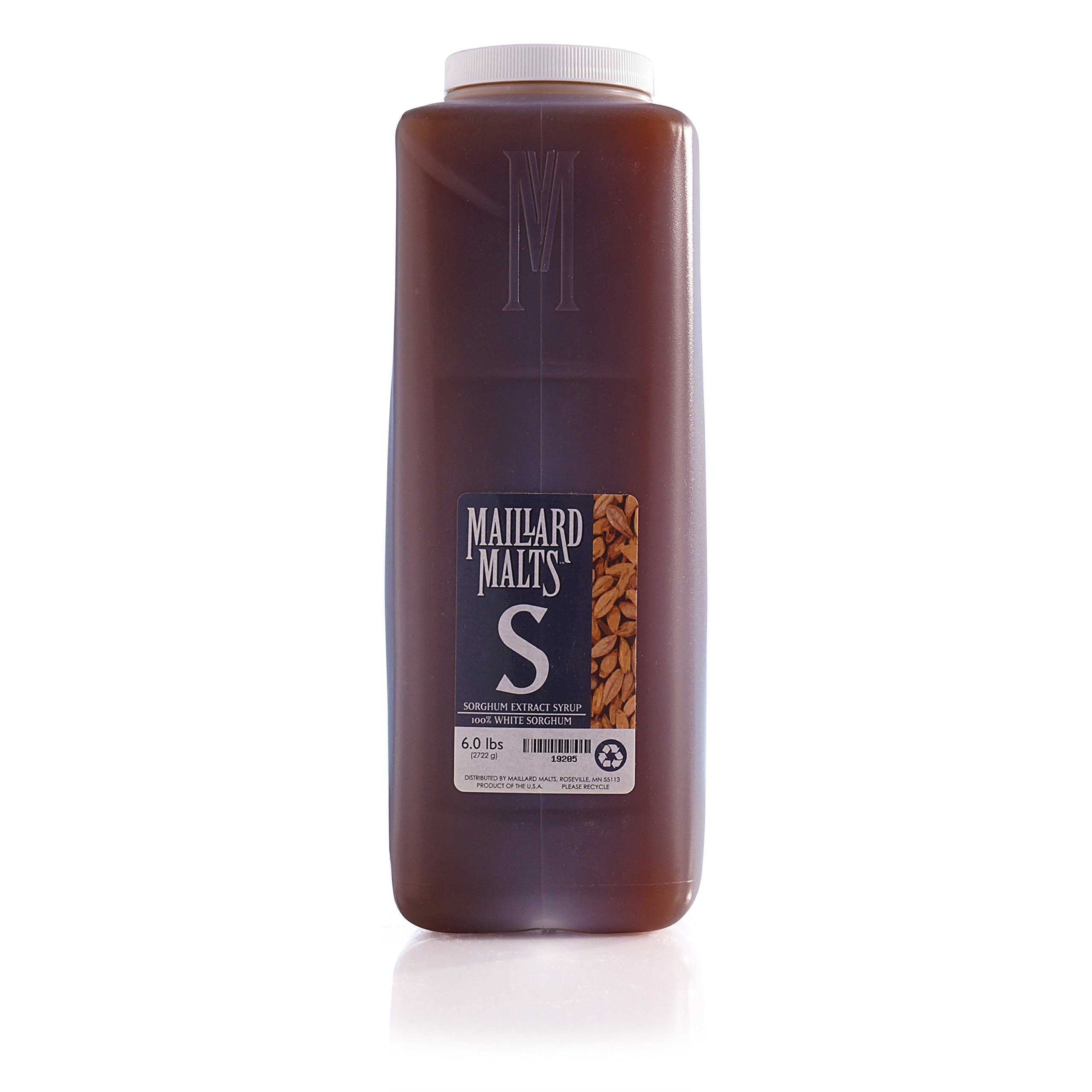 Northern Brewer - Malt Extract Syrup For Beer Brewing - Six Pack, 6 Lbs Each, 36 Lbs Total (Sorghum) by Maillard Malts