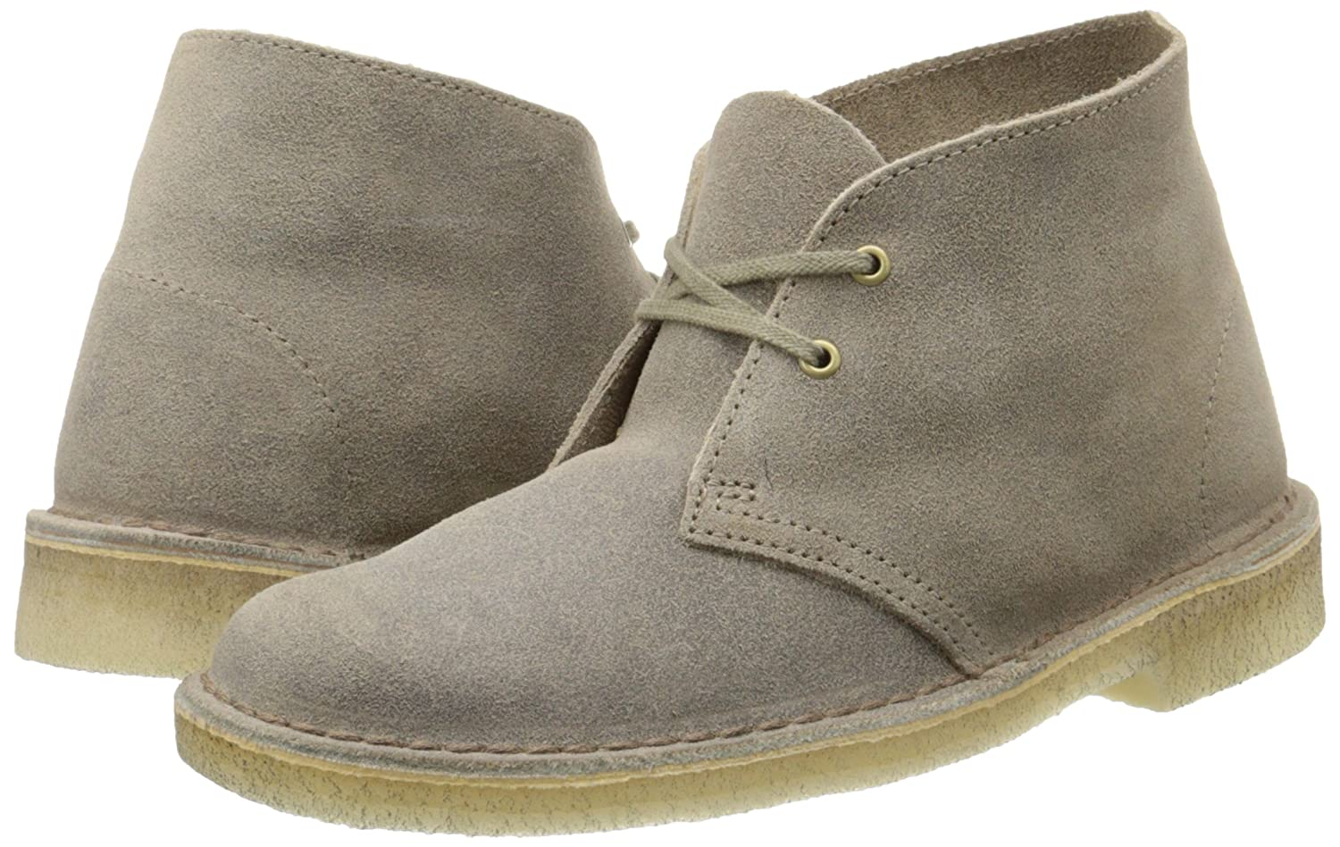 CLARKS Women's Desert 6.5 Boot Ankle Bootie B00UCVQGXC 6.5 Desert B(M) US|Taupe Distressed 2bd105