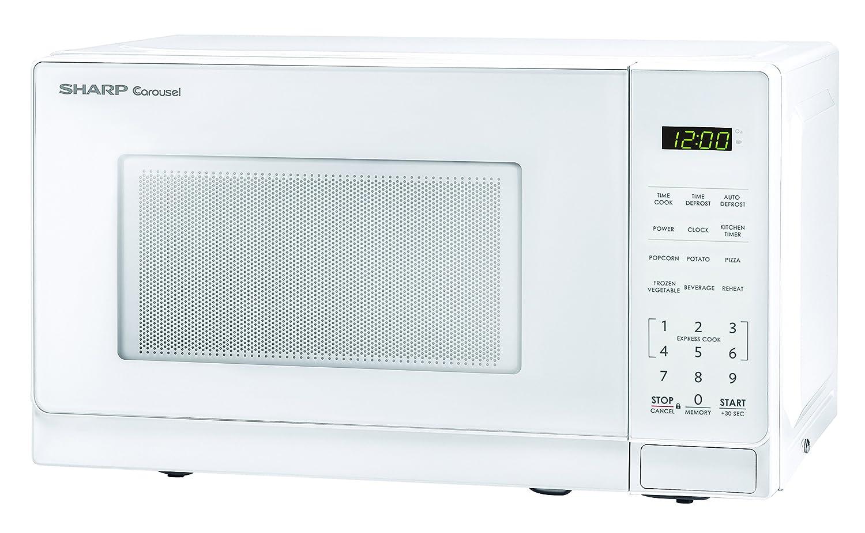 Amazon.com: Sharp Microwaves ZSMC0710BW Sharp 700W Countertop ...
