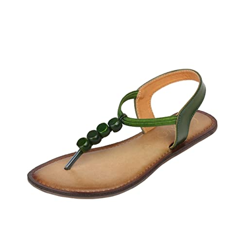 5259684190 Catwalk Women's Green Sandals: Buy Online at Low Prices in India ...