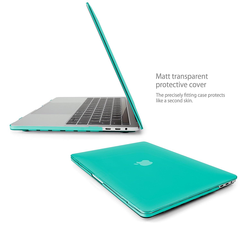 Model A1707 /& A1990 Ende 2016 mit USB Type C - f/ür Apple MacBook New Pro 15 Schutzh/ülle Tasche Hartschalen Cover in Grau MyGadget H/ülle Hard Case Matt