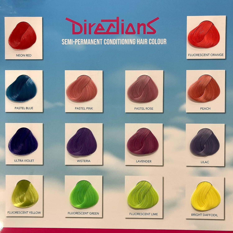 Tubs Directions Tinte Pelo Color Elige Cualquier Color x 4