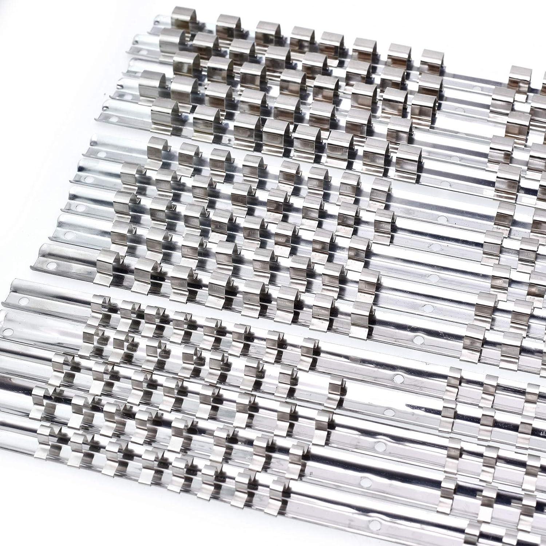 15 Soportes para Vasos de Vaso 1//43//8 1//2 16 Clip en riel Organizador de Herramientas de Almacenamiento FidgetGear