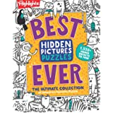 Best Hidden Pictures Puzzles EVER: The Ultimate Collection of America's Favorite Puzzle (Highlights Hidden Pictures)