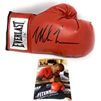 $109 » Mike Tyson Signed Autograph Boxing Glove Black Ink Tyson Hologram Authentic Certified W/Pic