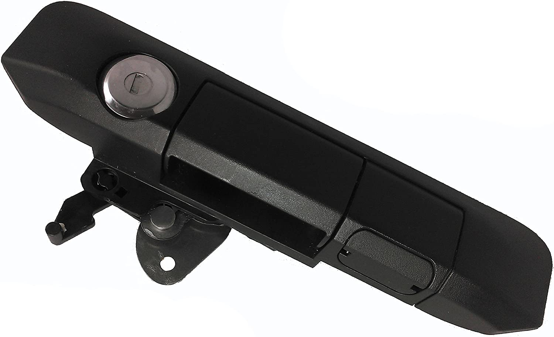 Pop /& Lock PL9900 Black Tailgate Collar Lock The Gate Defender