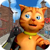Cat Subway Run: Leo Cat vs Dog (Free)