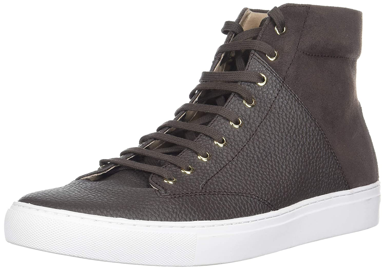 Dark Earth TCG Mens Men's Premium shoes Porter All Leather High Top Laces Sneaker Sneaker
