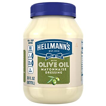 Amazon.com: Hellmanns Mayonnaise Dressing, with Olive Oil ...