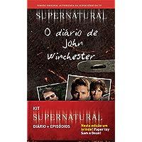 Diário e Episódios - Caixa Supernatural (+ Brinde Paper Toy Sam e Dean!)