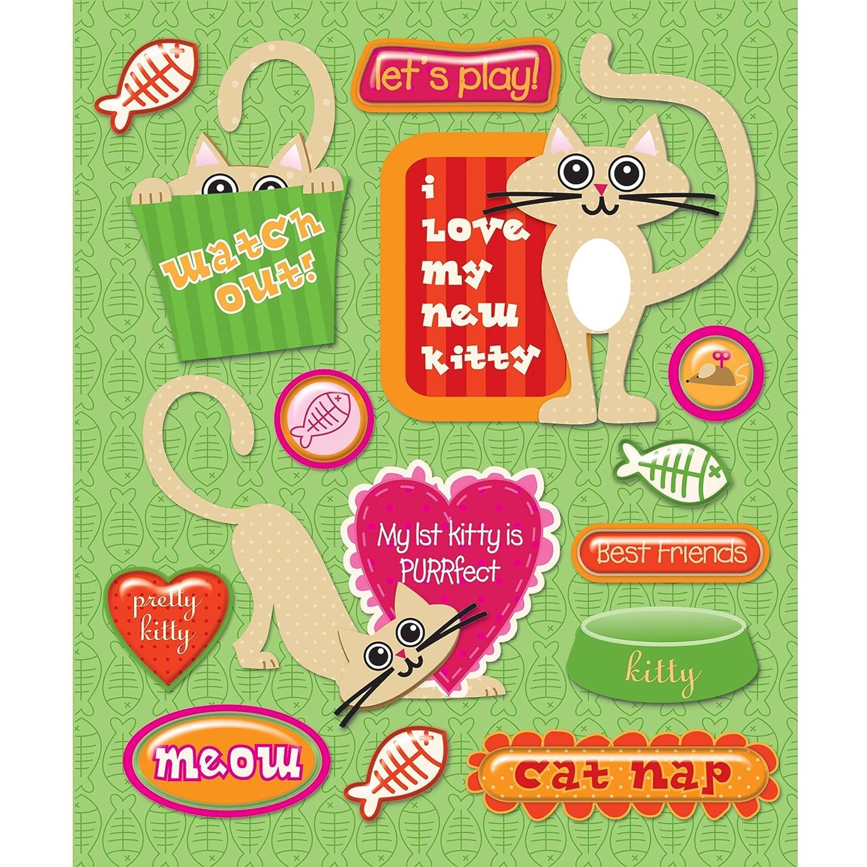 Unbekannt K & Company Erste Pet Cat Aufkleber Medley B0040X3Q7W | Sehr gelobt und vom Publikum der Verbraucher geschätzt