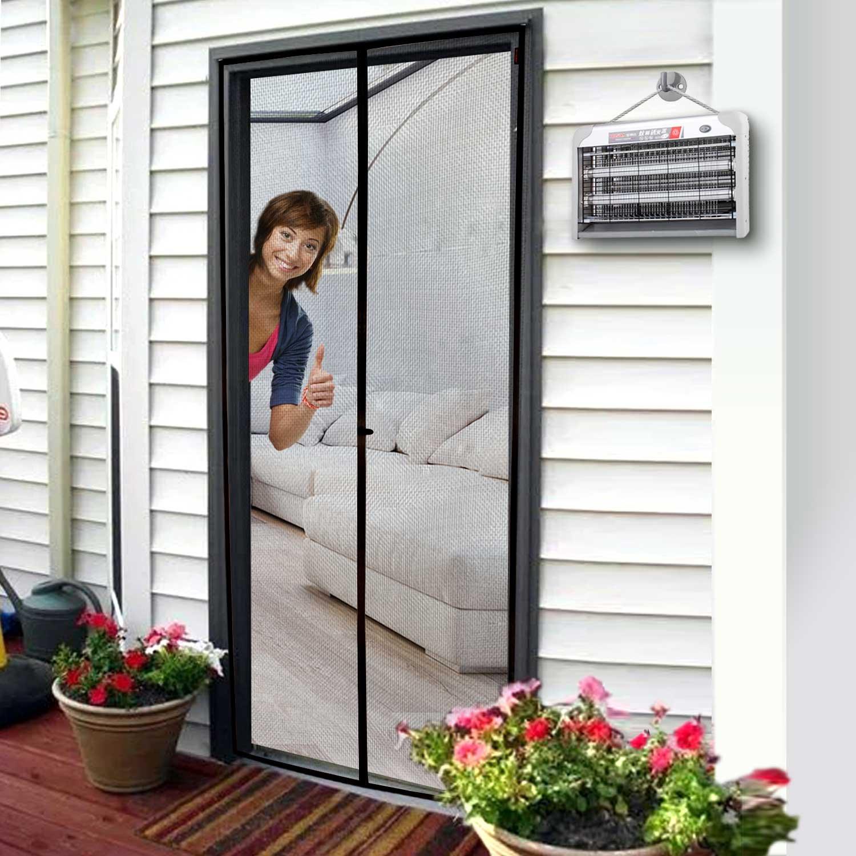 Door Screen Magnetic Magic Front Door Bug Screen 38x 83 Fit Door