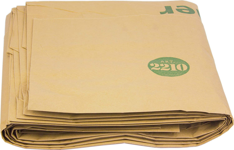con Guida al compostaggio 40 x 240 l in Carta compostabile 40 Sacchi biodegradabili Sacchi per la Spazzatura con Ruote Alina