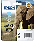 Epson 24 serie Elefante Cartuccia Getto D'Inchiostro, Ciano Chiaro